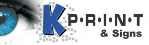 K-Print & Signs Logo
